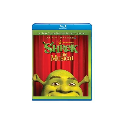SHREK THE MUSICAL (BLU-RAY/DVD/DIGITAL COPY/WS-1.78/ENG-FR-SP SUB) 24543872740