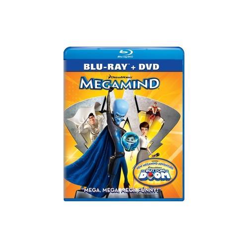 MEGAMIND (BLU-RAY/DVD/2 DISC COMBO) 97361246642