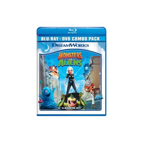 MONSTERS VS ALIENS (BLU RAY/DVD COMBO/2 DISC/WS) 97361169743