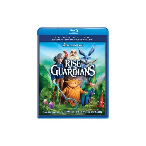 RISE OF THE GUARDIANS (BLU-RAY/3D/2D/DVD/DC/UV/3 DISC) (3-D) 97361700946
