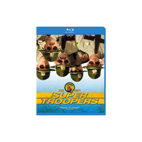 SUPER TROOPERS (BLU-RAY/ENG-FR-SP SUB/SAC) 24543525943