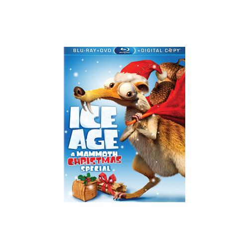 ICE AGE-MAMMOTH CHRISTMAS SPECIAL (BLU-RAY/DVD/DC/3 DISC) 24543767701