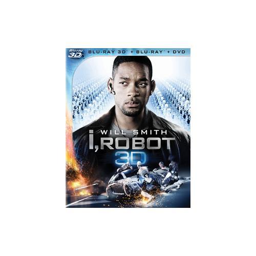 I ROBOT (BLU-RAY/DVD/2D/3D/WS/ENG-FR-SP SUB) (3-D) 24543807537