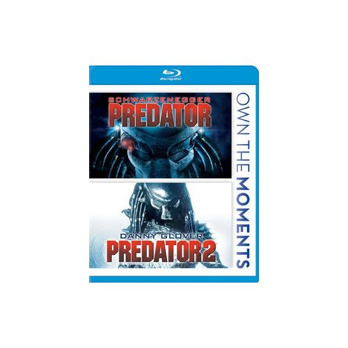 PREDATOR/PREDATOR 2 (BLU-RAY/DBFE/WS/SAC) 24543816188