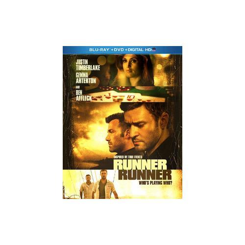 RUNNER RUNNER (BLU-RAY/DVD/DHD/2 DISC/WS-2.40/ENG-SP-FR SUB) 24543840176