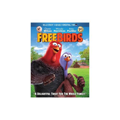 FREE BIRDS (BLU-RAY/DVD/DC/UV/2 DISC/WS-1.85) 24543883616