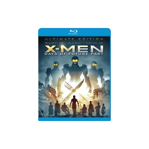 X-MEN DAYS OF FUTURE PAST (BLU-RAY/3D/DHD/2 DISC/ULTIMATE ED) (3-D) 24543962700