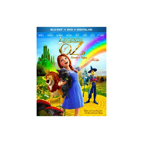 LEGENDS OF OZ-DOROTHYS RETURN (BLU-RAY/DVD/UV/2 DISC/WS-1.78) 24543975175