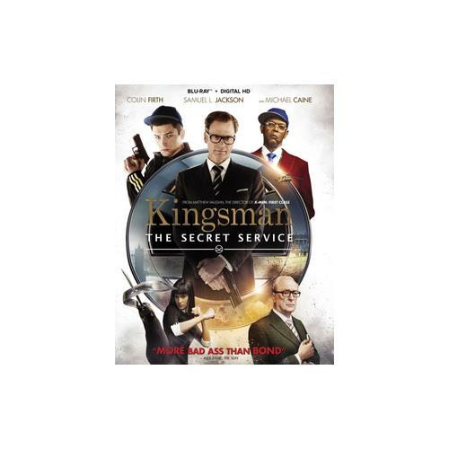 KINGSMAN-SECRET SERVICE (BLU-RAY/DIGITAL HD/WS-2.39) 24543980216