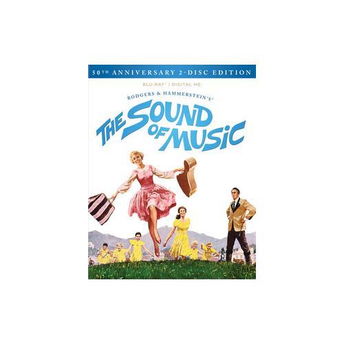 SOUND OF MUSIC-50TH ANNIVERSARY (BLU-RAY/DIGITAL HD/2 DISC/DOCUMENTARY) 24543029564