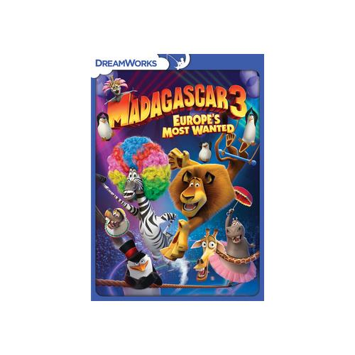 MADAGASCAR 3-EUROPES MOST WANTED (DVD) 97361169941