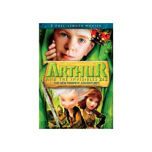 ARTHUR & THE INVISIBLES 2&3- NEW MINIMOY ADVENTURES (DVD/WS/SAC) 24543737827