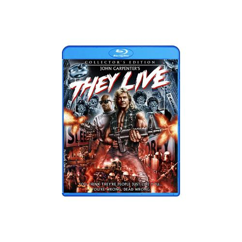 THEY LIVE-COLLECTORS EDITION (BLU RAY) 826663136586