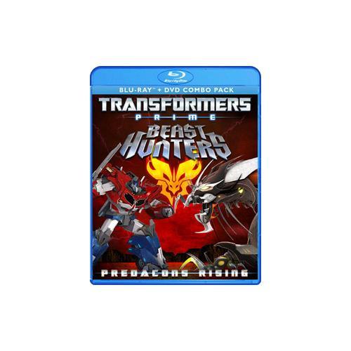 TRANSFORMERS PRIME PREDACONS RISING (BLU-RAY/WS/TV-Y7) 826663143287