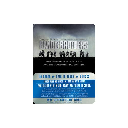 BAND OF BROTHERS (BLU-RAY/6 DISC/TIN BOX) 883929023936