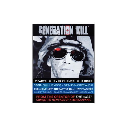 GENERATION KILL (BLU-RAY/3 DISC/FF-4X3) 883929029273
