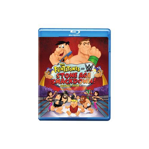 FLINTSTONES & WWE-STONE AGE SMACKDOWN (BLU-RAY/DVD/ULTRAVIOLET/2 DISC) 883929428410
