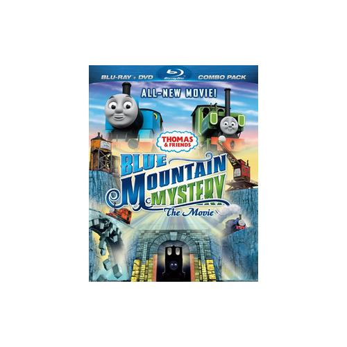THOMAS & FRIENDS-BLUE MOUNTAIN MYSTERY THE MOVIE BLU RAY/DVD COMBO PACK 884487112704