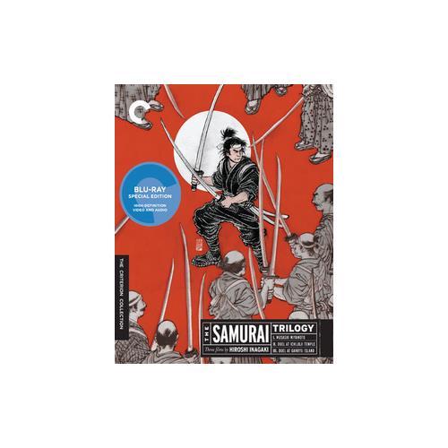 SAMURAI TRILOGY (BLU RAY) (2DISCS/FF/1.33:1) 715515092913