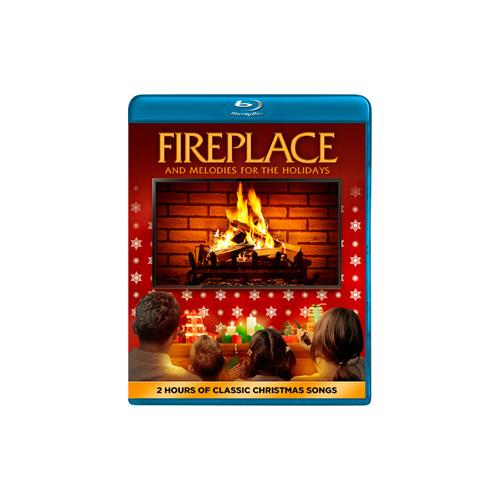 FIREPLACE & MELODIES FOR THE HOLIDAYS (BLU RAY) 14381776751