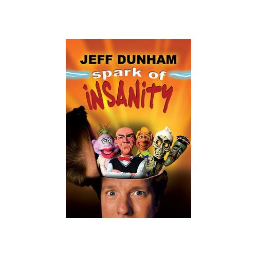 JEFF DUNHAM-SPARK OF INSANITY (DVD)-NLA 14381425420