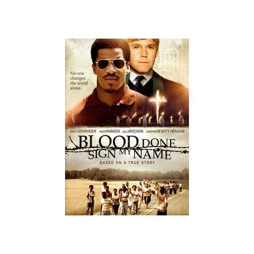 BLOOD DONE SIGN  MY NAME (DVD) 14381665024