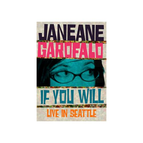 JANEANE GAROFALO-IF YOU WILL (DVD) 14381668728