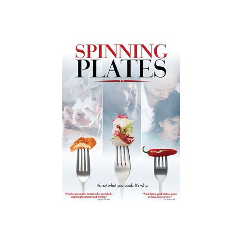 SPINNING PLATES (DVD) 815300012161