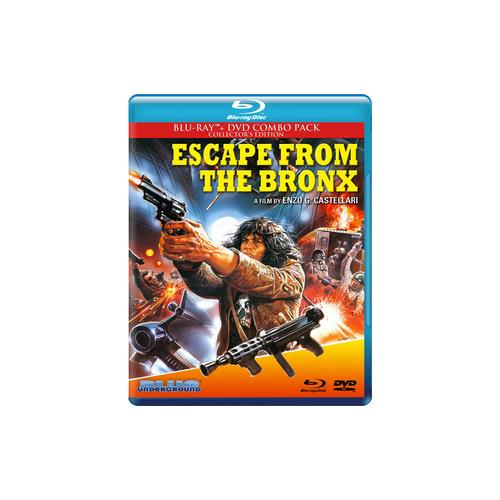 ESCAPE FROM THE BRONX (BLU RAY/DVD) (16X9/WS/2.35:1/5.1 DOL DIG/2DISCS) 827058705493