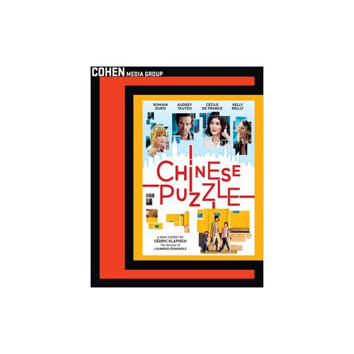 CHINESE PUZZLE (BLU RAY) (ENG & FRENCH W/ENG SUB)/16X9/1.78:1/DTS 5.1) 741952780793
