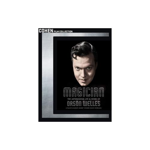 MAGICIAN ASTONISHING LIFE & WORK OF ORSON WELLES (BLU RAY) (16X9/WS/1.85:1) 741952792093