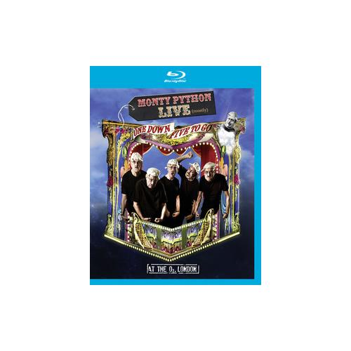 MONTY PYTHON-LIVE (MOSTLY)-ONE DOWN FIVE TO GO (BLU-RAY) 801213519293