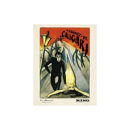 CABINET OF DR CALIGARI (BLU-RAY/1920/4K RESTORED/COLOR TINTED/GERMAN/ENG-S) 738329151522