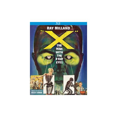 X-MAN WITH THE X-RAY EYES (BLU-RAY/1963/WS 1.85) 738329162023