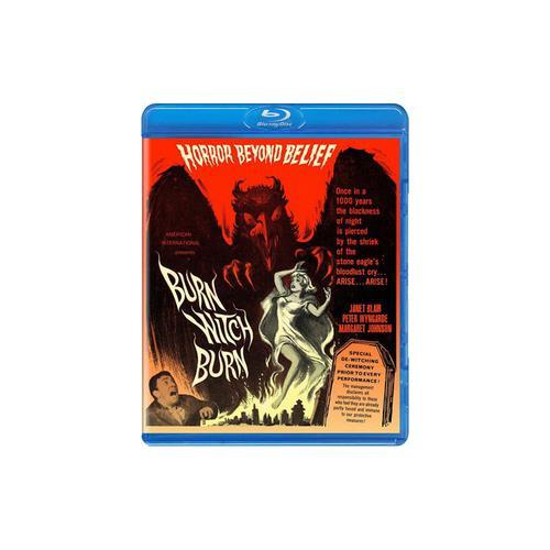 BURN WITCH BURN (BLU-RAY/1962/WS 1.85/B&W) 738329165529