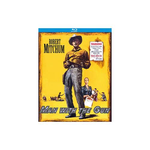 MAN WITH THE GUN (BLU-RAY/1955/WS 1.85/B&W) 738329173821