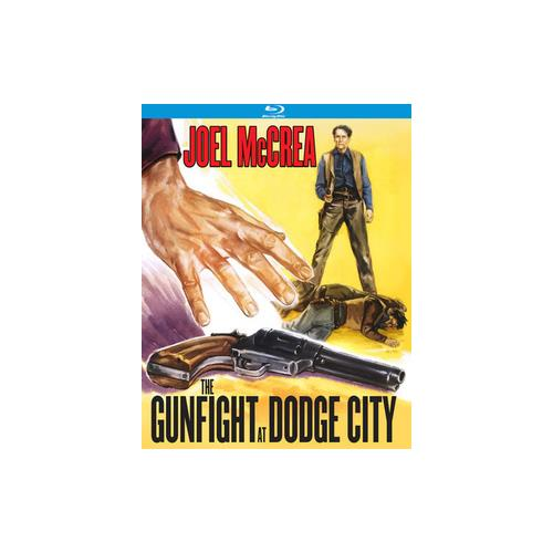 GUNFIGHT AT DODGE CITY (BLU-RAY/1959) 738329174026