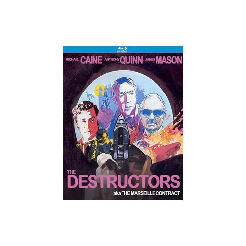 DESTRUCTORS AKA MARSEILLE CONTRACT (BLU-RAY/1974/WS 1.85) 738329175726