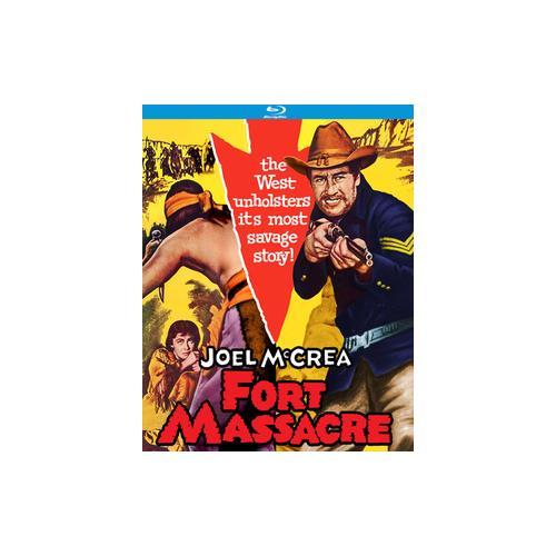 FORT MASSACRE (BLU-RAY/1958) 738329184926