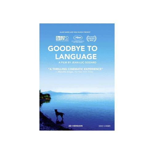 GOODBYE TO LANGUAGE (DVD/2014/2 DISC) 738329166724