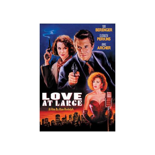 LOVE AT LARGE (DVD/1990) 738329174323