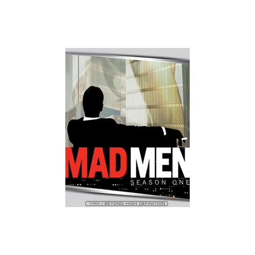 MAD MEN SEASON 1 (BLU RAY) (FF/ENG/SPAN/ENG/5.1 DTS HD/3DISCS/13EPISODES) 31398240761