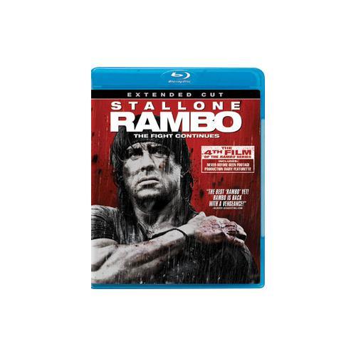 RAMBO (BLU RAY) (EXTENDED CUT/WS/ENG/ENG SUB/SPAN SUB/ENG SDH/7.1 DTS-HD) 12236110422