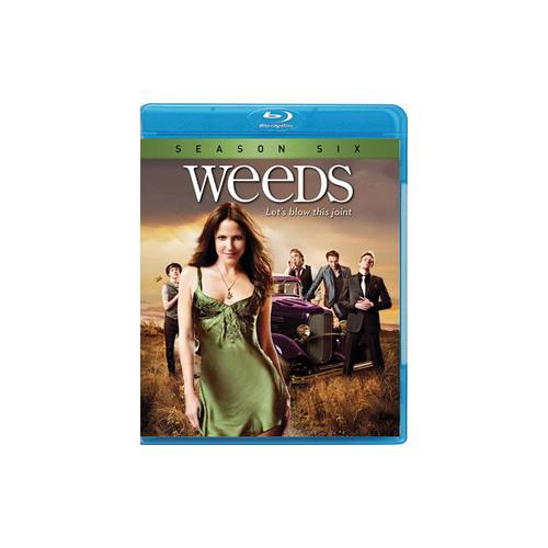 WEEDS-SEASON 6 (BLU RAY) (WS/ENG/ENG SUB/SPAN SUB/5.1 DD/7.1 DTS/2DISCS) 31398127635