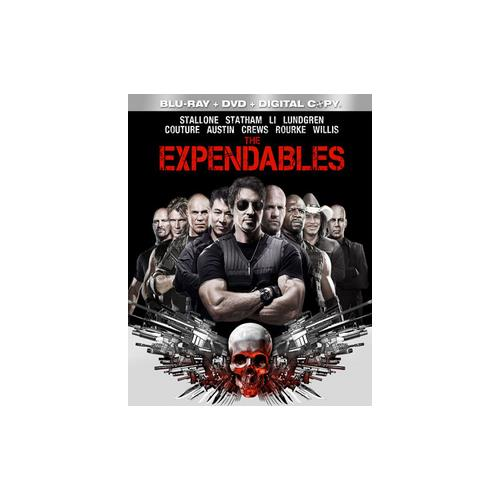 EXPENDABLES BLU RAY/DVD COMBO W/DIGITAL COPY 31398128458