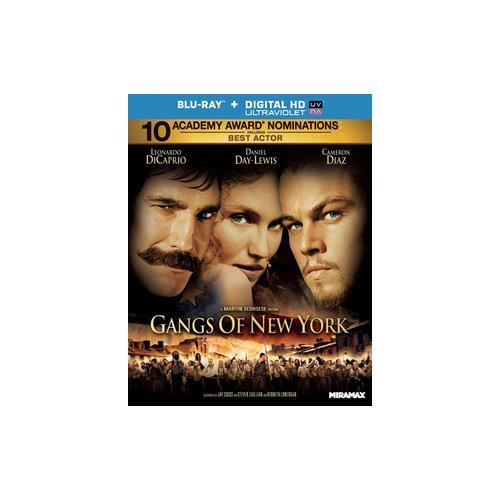 GANGS OF NEW YORK (BLU RAY)(WS/ENG/ENG SUB/FR/SP SUB/5.1 DTS-HD/UV DIG COPY 31398134572