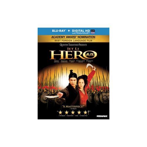 HERO (BLU RAY) (WS/CHINESE/CANTONESE/5.1 DTS-HD/UV DIGITAL COPY) 31398137566