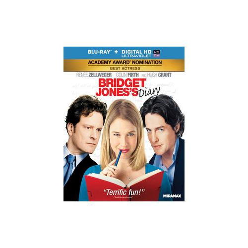 BRIDGET JONES DIARY (BLU RAY) (WS/ENG/FRENCH/SPAN SUB/UV DIGITAL COPY) 31398140597