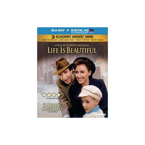 LIFE IS BEAUTIFUL (BLU RAY) (WS/ENG SUB/ITAL/SP SUB/ENG SDH/5.1 DTS/UV DIG) 31398144328