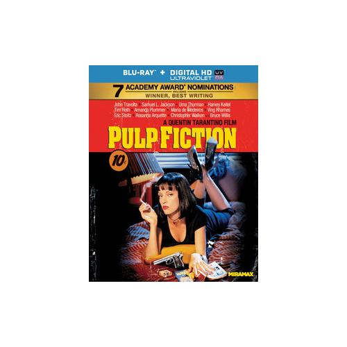 PULP FICTION (BLU RAY) (WS/ENG/ENG SUB/SPAN SUB/ENG SDH/5.1 DTS/UV DIG COPY 31398144359